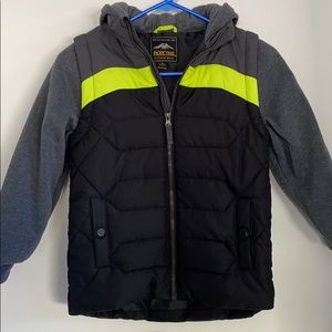 New! Pacific Trail Jacket with Hoodie size 7